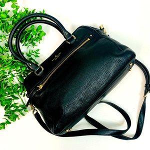 Kate Spade Cobble Hill Soft Black Leather Hand Bag